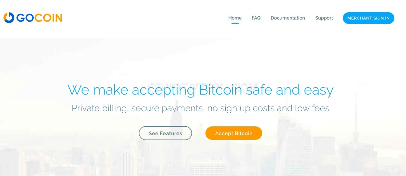 Gocoin - reviews, contacts & details | Payment gateway