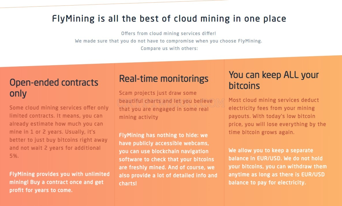 FlyMining - reviews, contacts & details | Mining | News, analytics