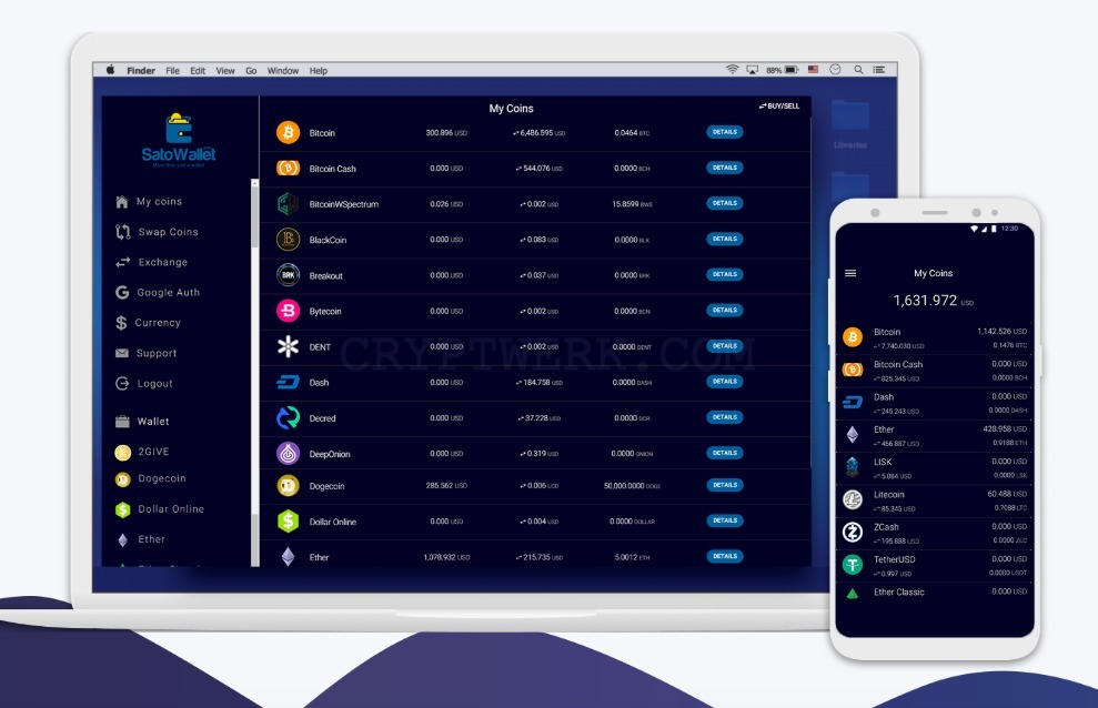 open source multi coin wallet