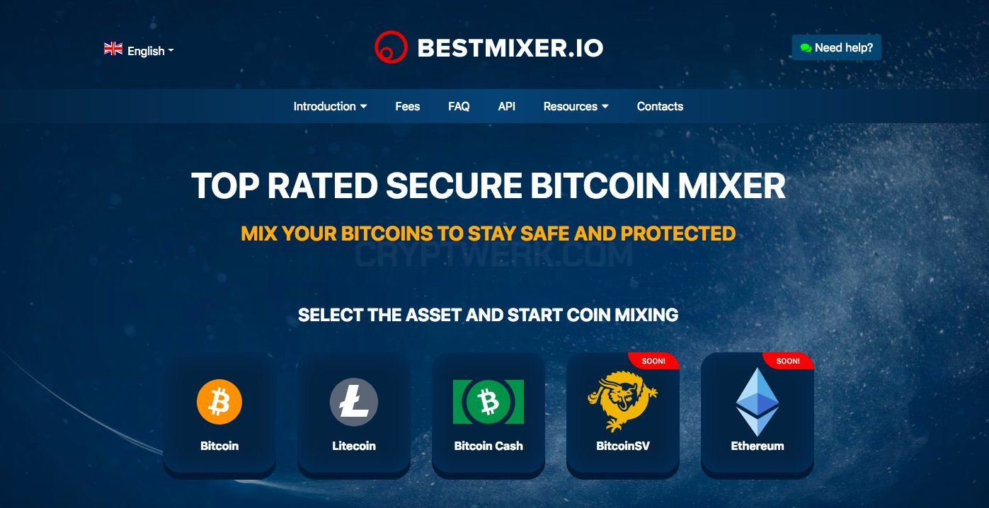 Bestmixer io - reviews, contacts & details | Mixers | Crypto services