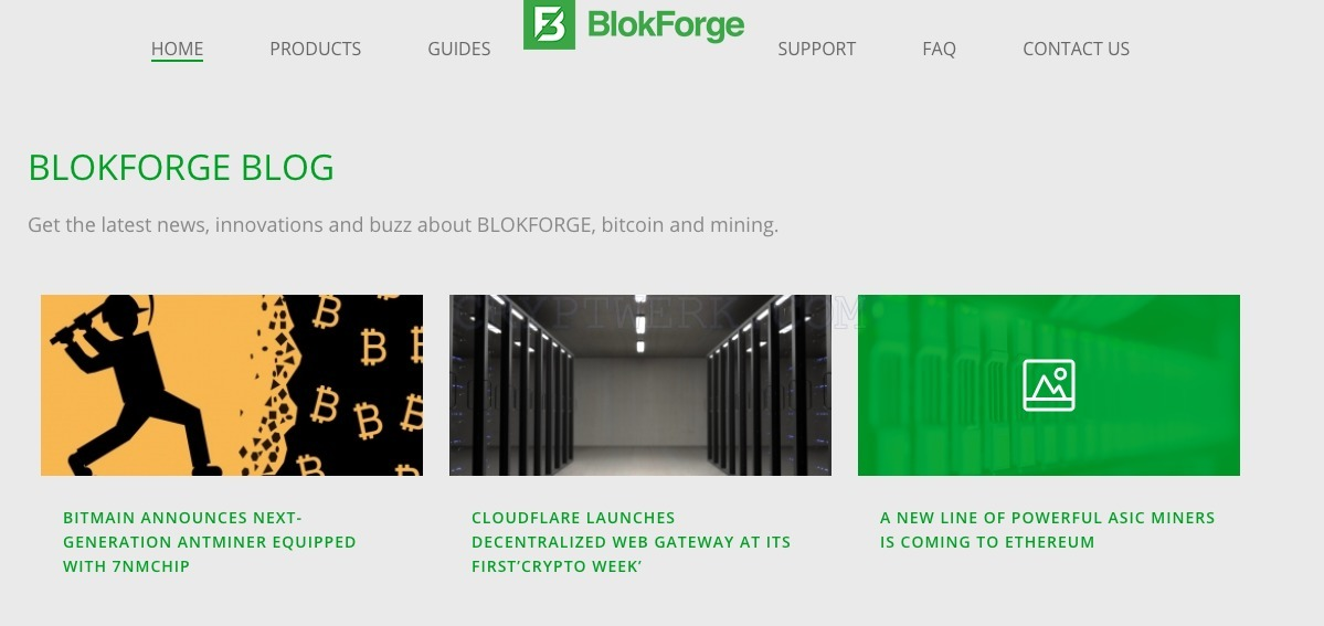 BlokForge - reviews, contacts & details | Mining | News
