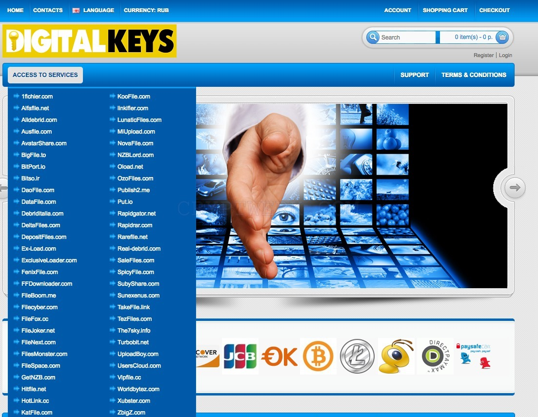 Digitalkeys biz - reviews, contacts & details | Accounts | Shops