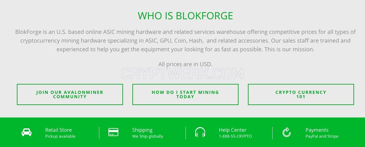 BlokForge - reviews, contacts & details | Mining | Shops, markets