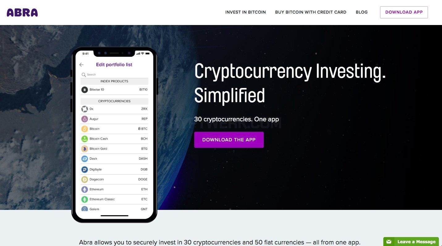 how to invest in abra