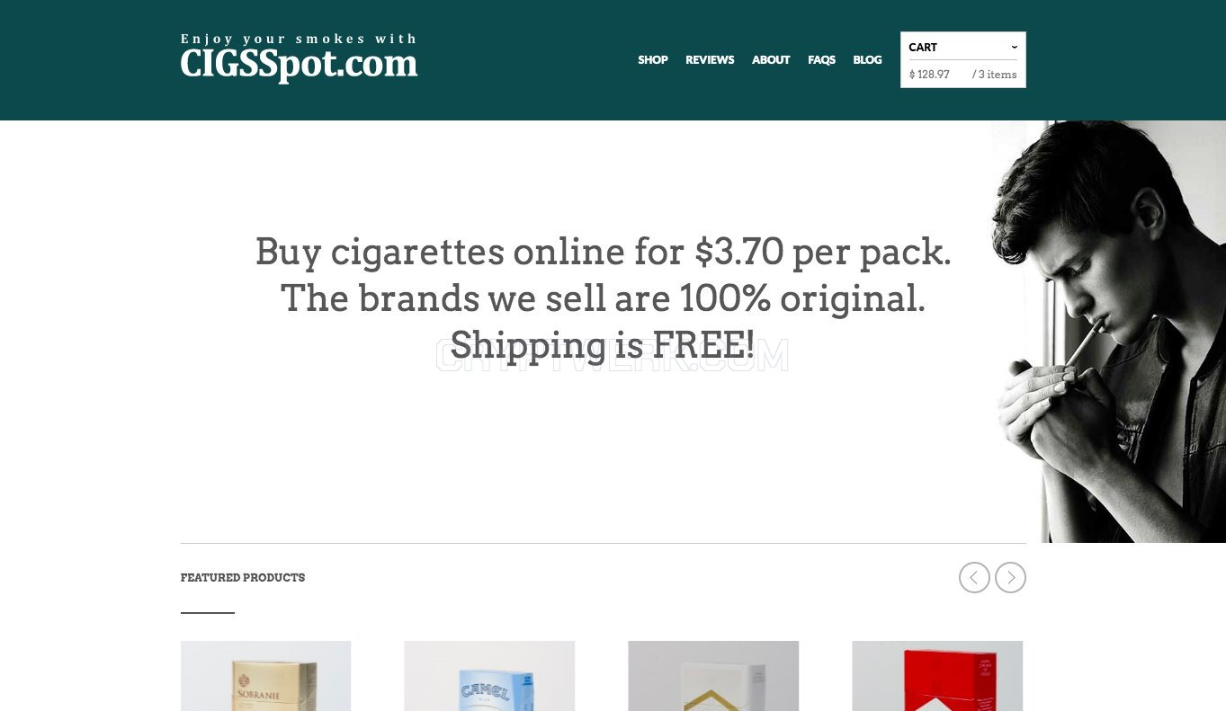 CigsSpot - reviews, contacts & details | Smoking | Shops
