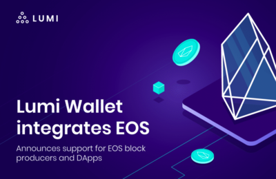EOS Exchange in Lumi Wallet