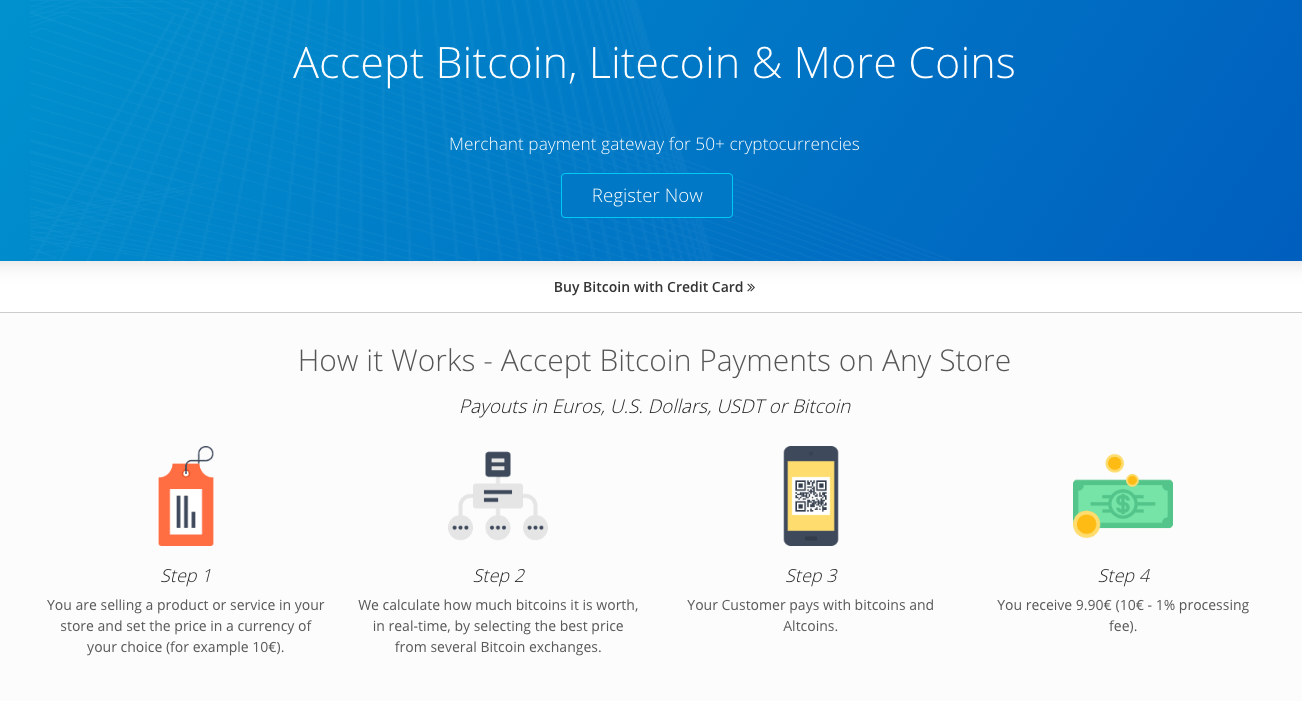 How to start accepting Bitcoin and other crypto at your store