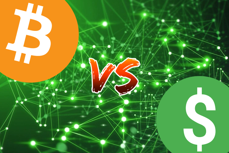 Can Bitcoin or Another Cryptocurrency Beat Down the U.S. Dollar Hegemony?