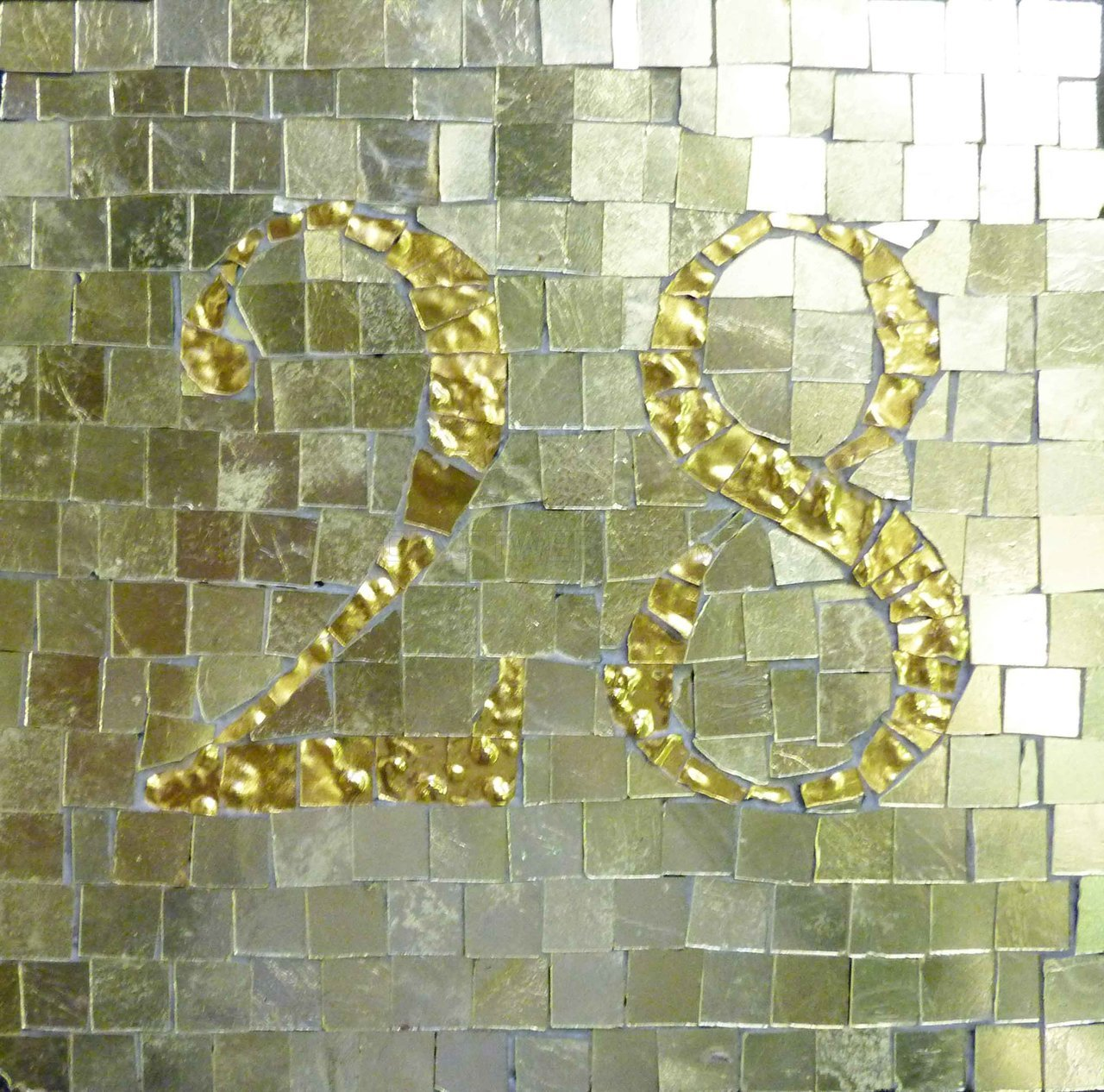 Handmade House-Numbers - LUXURY (Gold)