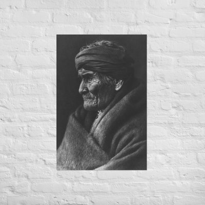 Geronimo Leader Of The Apache Indians Poster