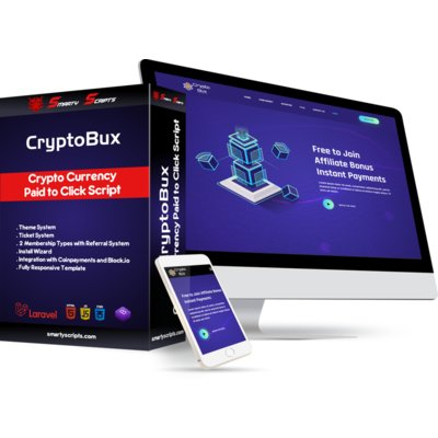 CRYPTOBUX - CRYPTO CURRENCY PTC SCRIPT